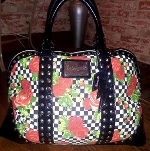 Betsey Johnson large floral tote bag!